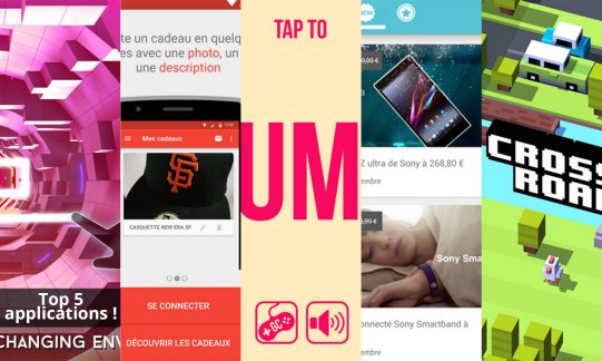 Les apps de la semaine : Impossible Draw, Tuktu, Jump, Roxino et Crossy Road