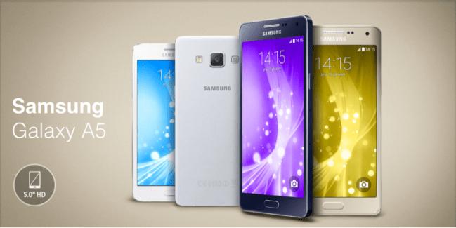 Samsung Galaxy A5 : à peine sorti, déjà en promotion à 329,90 euros