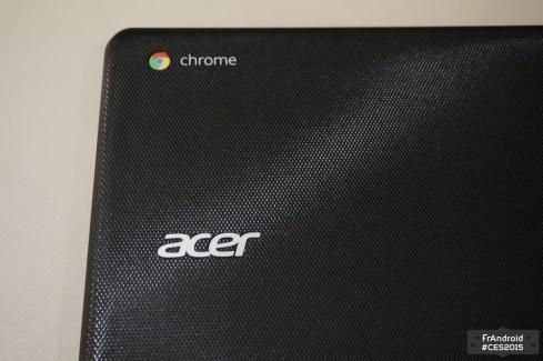Aperçu de l'Acer Chromebook 15, avec du Broadwell
