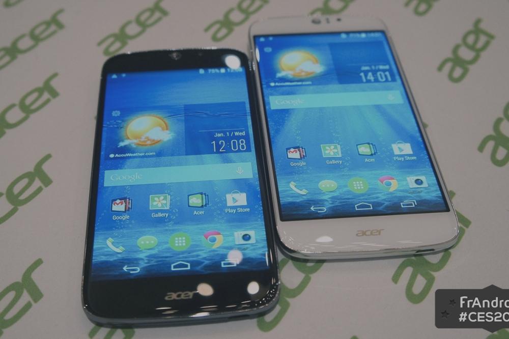 Prise en main du Liquid Jade S, le smartphone 4G et 64 bits d'Acer