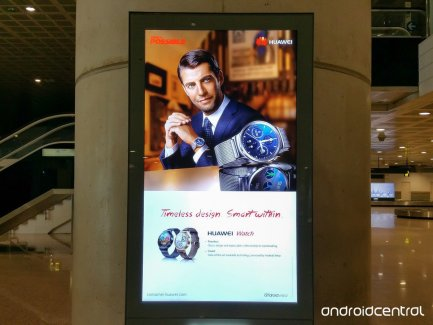 Huawei Watch, le fabricant chinois rejoint le peloton Android Wear