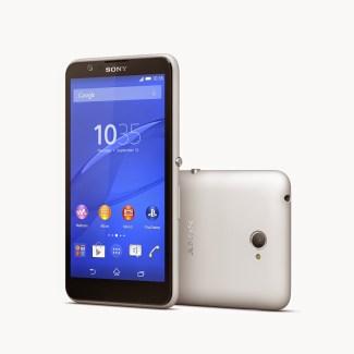 Sony Xperia E4g, le E4 mais en version 4G
