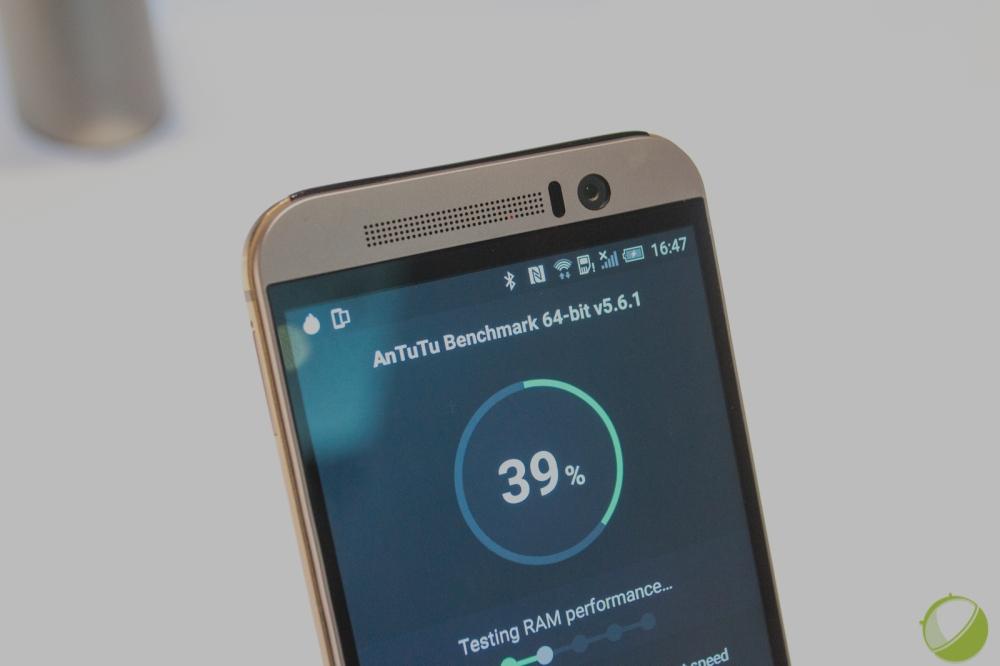 Performances : HTC One M9 vs M8 vs Samsung Galaxy S6