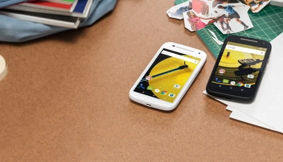 Motorola Moto E (2015) : Android 5.1 en approche