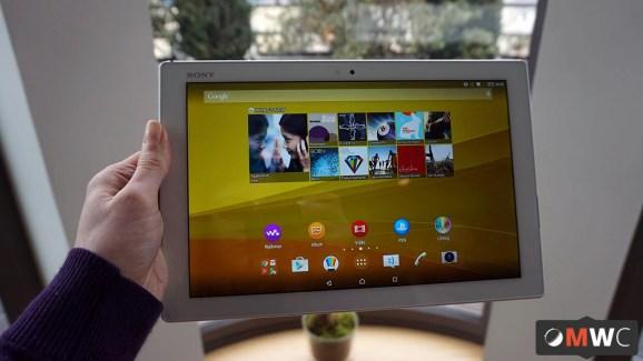 Prise en main de la Sony Xperia Z4 Tablet, professionnelle et nomade