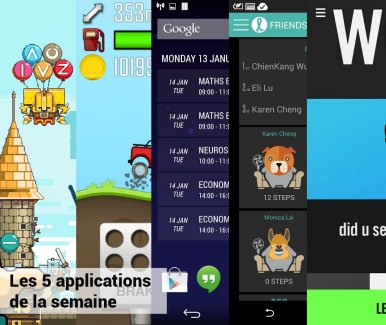 Les apps de la semaine : Magic Touch: Wizard for Hire, Hill Climb Racing, Today Calendar Pro, Fun Fit, Nike Football