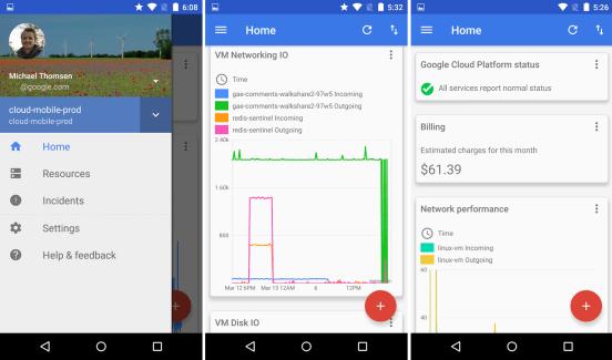 Google lance Cloud Console, une application destinée aux utilisateurs des services Google Cloud