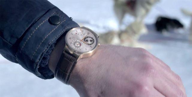 Huawei Watch, la montre Android Wear qui fait de l'ombre à l'Apple Watch