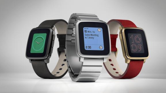Pebble Time Steel : une déclinaison haut de gamme de la nouvelle montre de Pebble