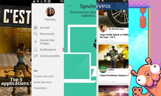 Les apps de la semaine : Tomb Raider, We heart it, CamScanner – Phone PDF Creator, Viral popup et Silly Sausage in Meat Land