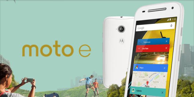 Bon plan : Le Motorola Moto E 4G est à 129,90 euros