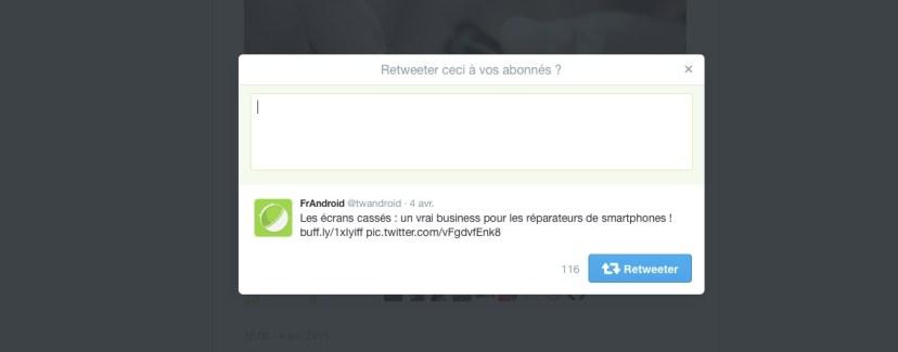 Twitter améliore enfin la fonction «citer» d'un tweet