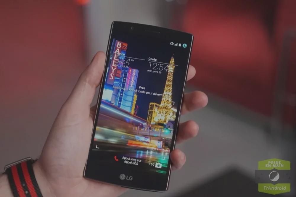 Prise en main du LG G4, à la recherche de la différence