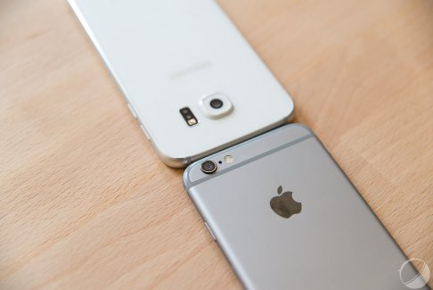 Galaxy S6, iPhone 6, One M9 et Nexus 6 : Android vs iOS dans les jeux