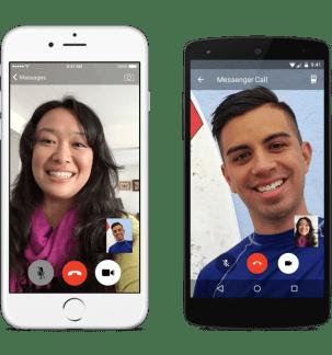 Facebook Messenger lance les appels vidéo