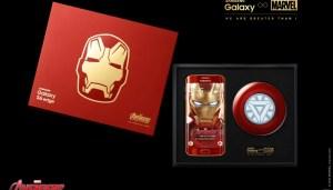 Samsung Galaxy S6 edge édition Iron Man : des...