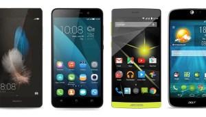 Comparatif : le Huawei P8 Lite face à ses...