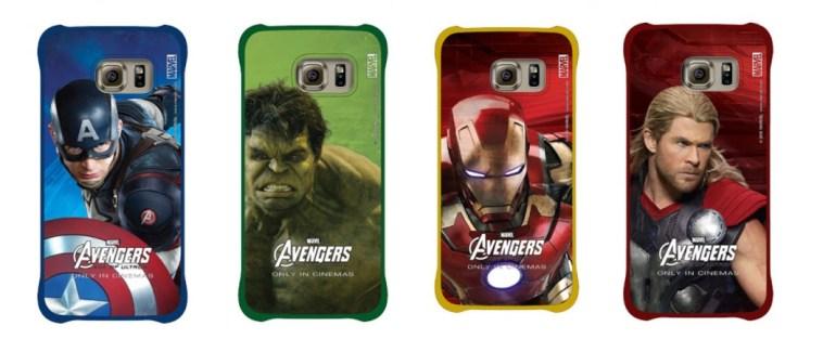 Samsung s'apprête à commercialiser des coques Avengers (d'un goût douteux) pour le GalaxyS6