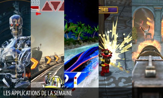 Les apps de la semaine : Terminator Genisys: Revolution, Brothers in Arms 3…