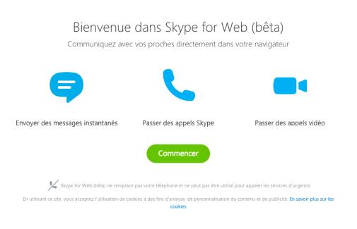 Skype sur le Web est désormais disponible pour tous, même sur les Chromebooks