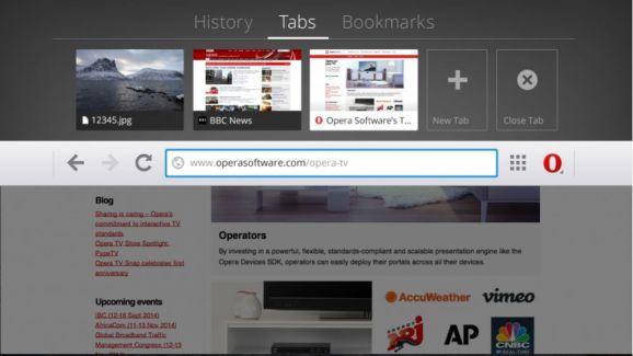 Opera Browser propose une expérience Web sur Android TV