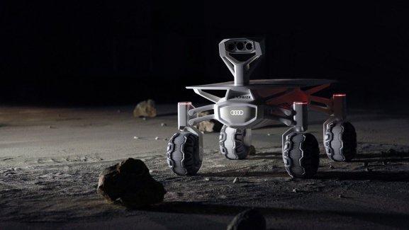 Audi lunar quattro : un rover lunaire pour un décollage en 2017