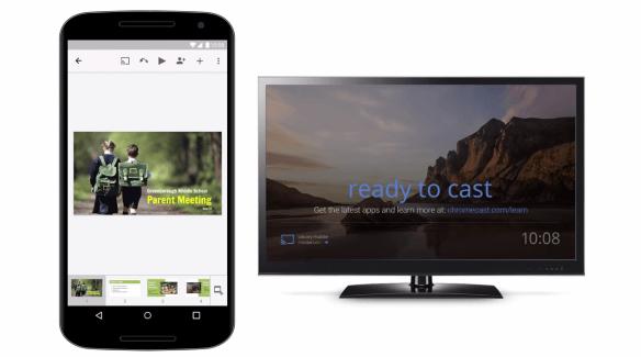 Slides est finalement compatible avec le Chromecast