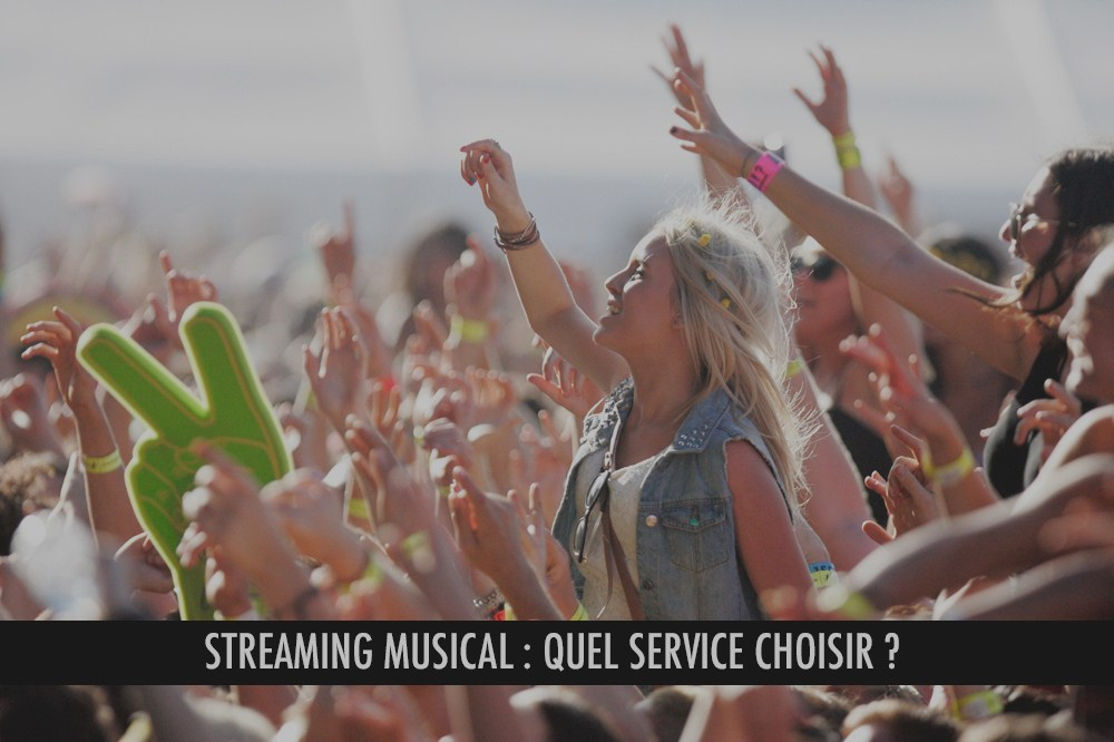 Streaming musical : quelle offre choisir ?