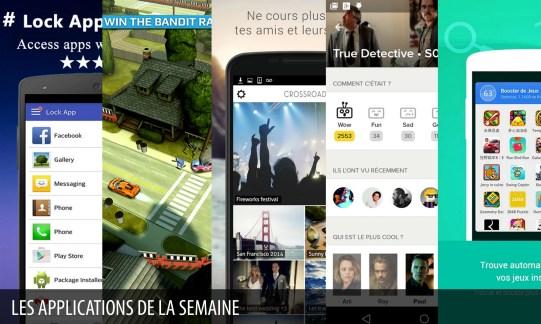 Les apps de la semaine : Super AppLock (privacy lock), Smash Bandits Racing,…