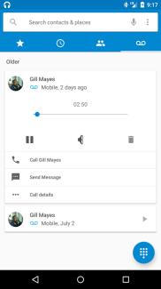 La messagerie vocale visuelle arrive avec Android M chez Orange