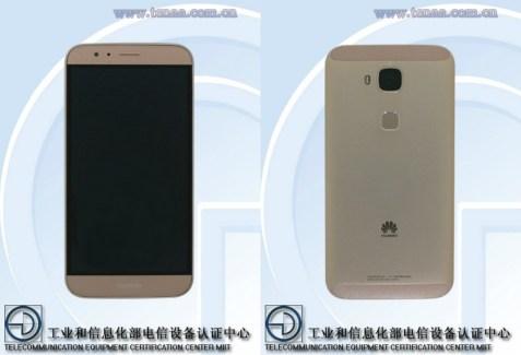 Le Huawei G8 se montre avec des images de la TENAA