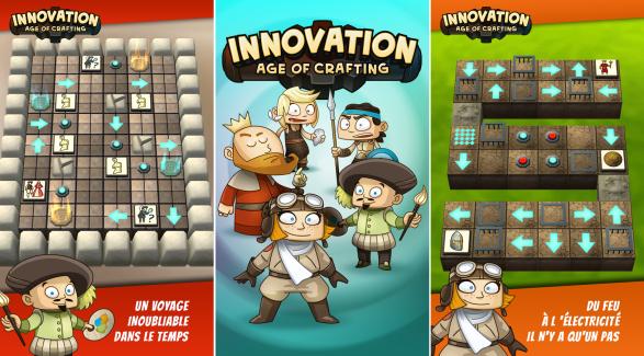 Innovation – Age of crafting propose de revivre l'histoire de l'humanité au sein d'un puzzle game