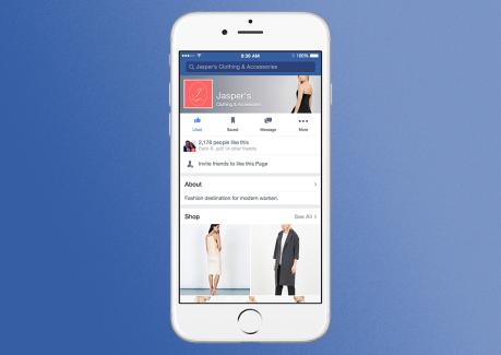 Facebook veut aussi vous faire acheter depuis les pages des marques