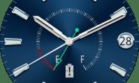La Samsung Gear A (Orbis) montre officieusement sa première face watch