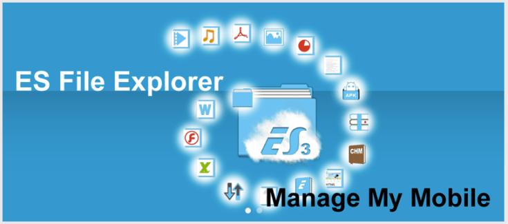 ES File explorer : l'explorateur de fichiers passe au Material Design