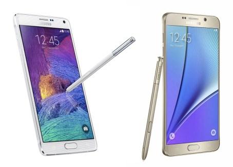 Samsung Galaxy Note 5 vs Galaxy Note 4 : ce qui change vraiment