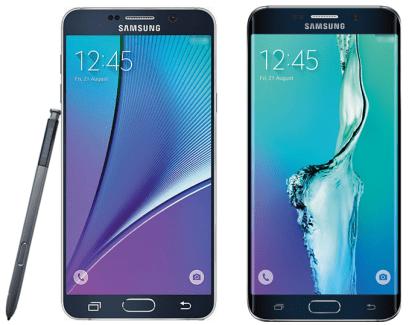 Samsung Galaxy Note 5 et S6 edge+ : les premiers rendus presse ?