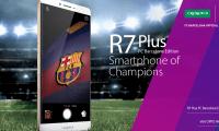 Le Oppo R7 Plus Edition FC Barcelone est officiellement lancé