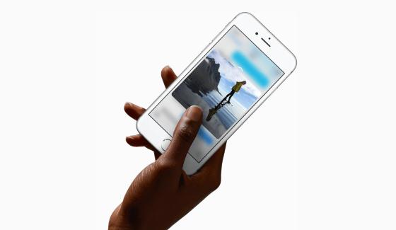 Apple iPhone 6s et 6s Plus vs Huawei Mate S, rivaux en Force Touch