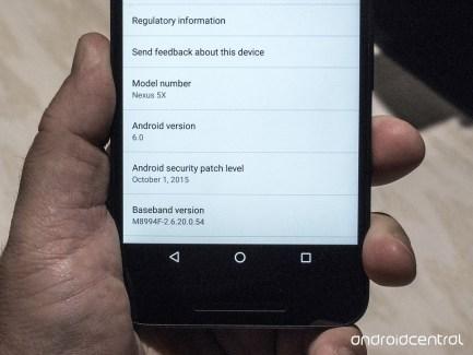 Les Nexus 6P et 5X jouent la transparence concernant les mises à jour de sécurité
