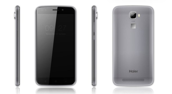 Haier présente 5 nouveaux smartphones, dont un HaierPhone L60 avec lecteur d'empreintes