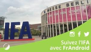 IFA 2015 : toutes les annonces du 3 septembre
