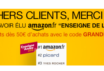 Bon plan : Amazon offre 10 euros de réduction immédiate pour 50 euros d'achat, seulement aujourd'hui