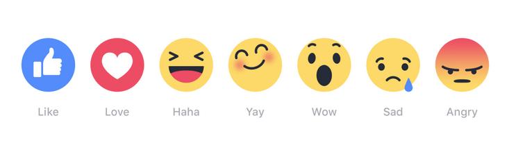 Facebook : mieux que le like, l'emoji ?