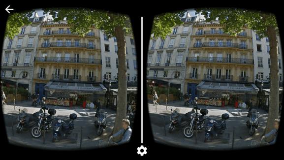 Google Street View se met à la réalité virtuelle via le Cardboard