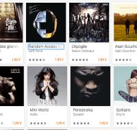 Bon plan : le Google Play propose 50% de réduction sur les albums, les films et la presse