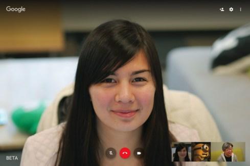 Hangouts : Google améliore la version web de son service de vidéoconférence