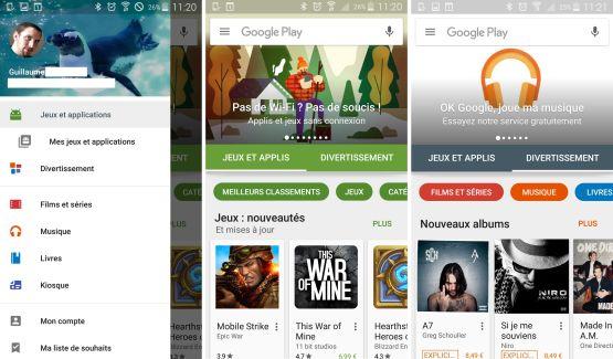 Le nouveau Google Play Store est disponible pour tous