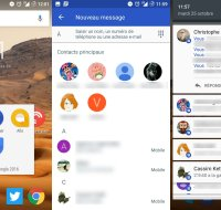 Google Messenger passe à la version 2.0 et fait évoluer son interface