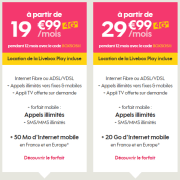 🔥 Black friday : 15 euros de réduction par mois pendant un an sur les formules Livebox + mobile chez Sosh